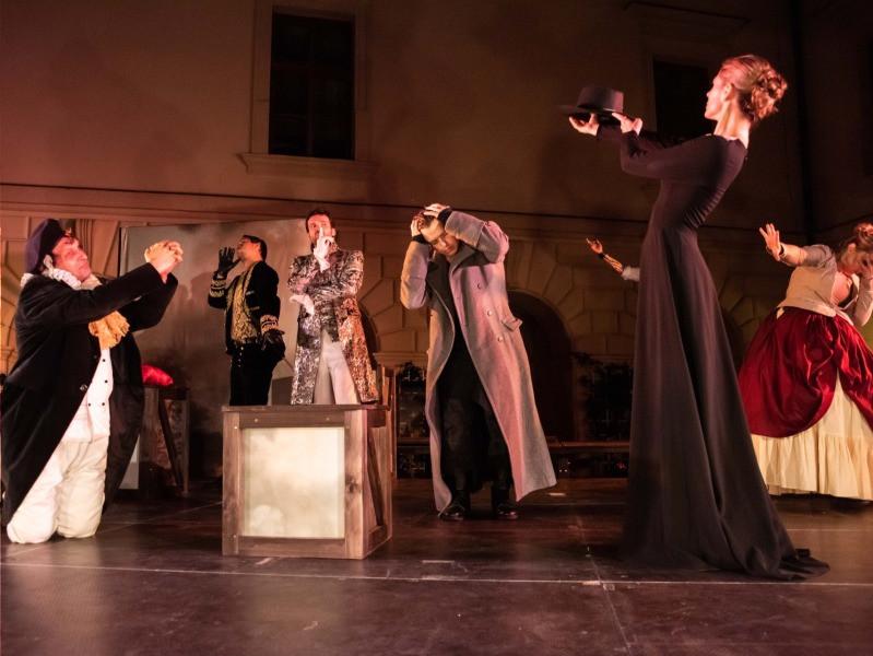 Premiéra Cyrana z Bergeracu v Divadle pod Palmovkou